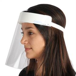 Medical face shield (CE certified) - 1 pcs.