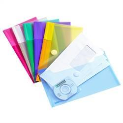 Cheque book Envelopes, M65, 6 assorted colors