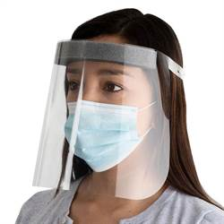 "Protective face shield, ""Comfort Plus"""