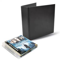 Blu-ray bundle - 50 Single Blu-ray sleeves, 2 binders