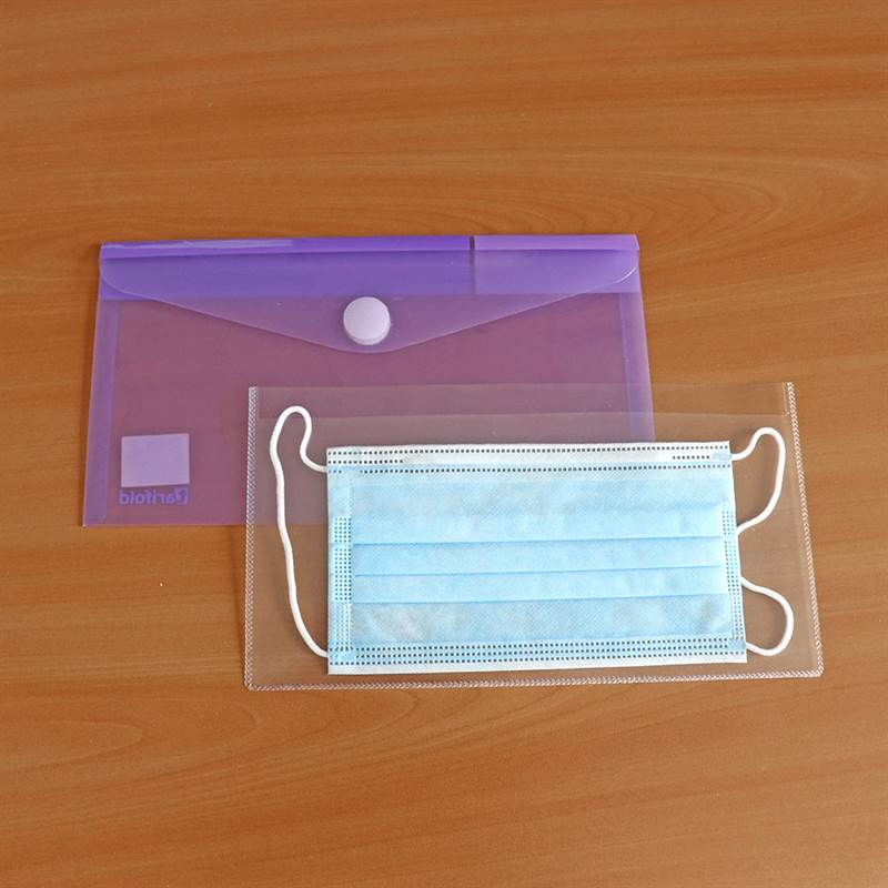 Antimicrobial sleeves for storing Face Mask - 6 pcs.