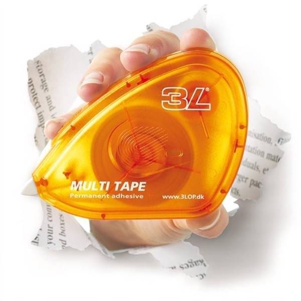Double-sided adhesive tape dispenser